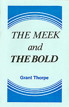 The Meek and The Bold - Book Cover Thumbnail