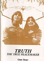 Truth the True Peacemaker - Book Cover Thumbnail